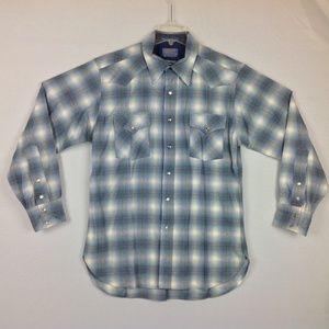Pendleton Wool High Grade Western Shirt Mens Large